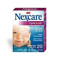 Miếng dán mắt hỗ trợ điều trị nhược thị Nexcare cỡ bé cho trẻ dưới 4 tuổi( hộp 20 miếng) thumbnail