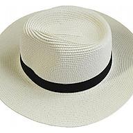 Mũ panama cói vành to Unisex thumbnail