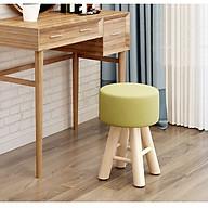 Ghế trang điểm , ghế đôn kích thước 28 28 42 cm (Giao màu ngẫu nhiên) thumbnail