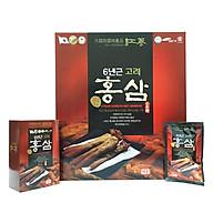 Thư c phâ m bô sung nước uô ng hồng sâm 6 tuô i Taewoong Food Ha n Quô c (Hộp 30 gói) thumbnail
