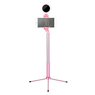 1.7-Meter Live Streaming Selfie-Portrait Stand Kit with Aluminum Alloy Selfie Stick Integrated Phone Holder Fill Light + thumbnail