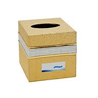Hộp đựng giấy ăn, khăn giấy hình vuông cho bàn ăn golden (Màu ngẫu nhiên) thumbnail