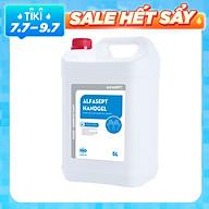 Gel rửa tay khô sạch khuẩn Alfasept Handgel 5L - Hiệu quả vi sinh vượt trội thumbnail