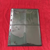 Phơi 4 ngăn đen dọc, dùng để đựng tem, có 2 mặt, tổng cộng 8 ngăn. Chất liệu nhựa tổng hợp, dẻo dai, bền chắc. Vật dụng sưu tầm hữu ích - SP001143 thumbnail