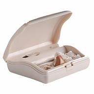 Máy trợ thính siêu nhỏ lỗ tai, hộp sạc di động có đèn Mimitakara (JAPAN) UP-6SXX thumbnail
