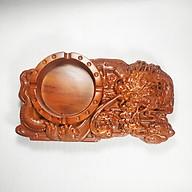 Gạt tàn gỗ hương trạm khắc Rồng tinh xảo thumbnail