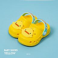 Dép Sục Cheerful Mario CC - 9966 Siêu Mềm Siêu Nhẹ Chống Trơn Trượt Cho Bé - 5 Màu Đính Sticker Ngộ Nghĩnh, Có Quai Đeo Linh Hoạt (Kèm Tất Babylovego B101) thumbnail