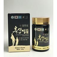Cao hắc sâm Hàn Quốc cao cấp Chamhan hộp 4 lọ x 250g thumbnail