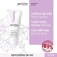 Kem dưỡng da tay từ các Khoáng Chất Biển Chết Jericho Hand Cream, Sản phẩm dạng kem mềm nhẹ dễ dàng hấp thụ nhanh chóng trên da - 100gr Giúp dưỡng ẩm và làm mềm mịn da tay. thumbnail