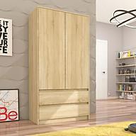 Tủ quần áo gỗ hiện đại SMLIFE Catherine thumbnail