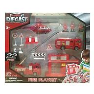 Đồ Chơi Trạm Cứu Hỏa Diecast 70361 (22 Chi Tiết) thumbnail