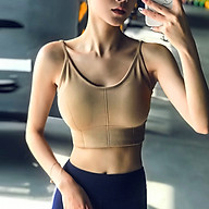 Áo bra thể thao 2 dây cotton cao cấp - CCC 646 thumbnail