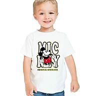 Áo Thun Mickey So Cute Cho Bé Kiểu Dáng Unisex thumbnail