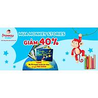 Monkey Stories TRỌN ĐỜI 1 NĂM 6 THÁNG - Phần mềm tương tác phát triển toàn diện 4 kỹ năng tiếng ANH cho bé - Hàng chính hãng thumbnail