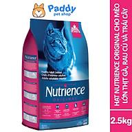 Hạt Nutrience Original Cho Mèo Trưởng Thành Vị Gà, Rau Củ & Trái Cây Tự Nhiên thumbnail
