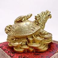 Tượng Long Quy Bằng Đồng - Kim Tiền Jewelry - Hóa Giải Vận Hạn - Vượng Khí Vượng Tài thumbnail