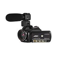 Máy Quay Video IR Wifi Kỹ Thuật Số Andoer AC3 Kèm Ghi Âm (4K UHD 24Mp) (30X Zoom) (3.1Inch IPS) thumbnail