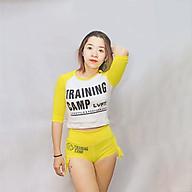 Set Quần Áo Nũ Tập Gym Live Fit Training Camp thumbnail