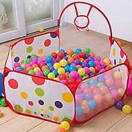 Lều Bóng KÈM 100 quả bóng thumbnail
