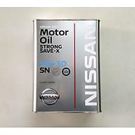 Dầu nhờn Nissan Strong Save 5W30 SN 4Lx6 thumbnail