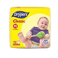 Tã Dán Drypers Classic Cực Đại M72 (72 Miếng) thumbnail