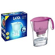 Combo Bình lọc nước LAICA J11A Tím và 02 Lõi lọc nước (MADE IN ITALY) thumbnail