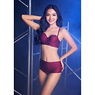 BIKINI PASSPORT - Bikini lưng cao, áo hai dây cúp ngực - Đỏ - BS363_BX thumbnail