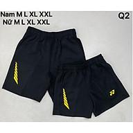 Quần thể thao nam, quần cầu lông nam YN xuất dư màu đen giao màu ngẫu nhiên thumbnail