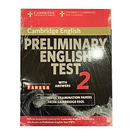 Cambridge Preliminary English Test 2 Student s Book with Answers thumbnail
