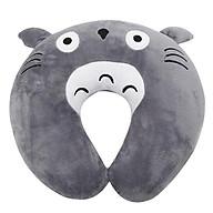 Gối Chữ U,Gối Kê Cổ Văn Phòng,Du Lịch Totoro-Xám thumbnail
