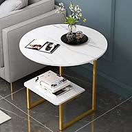 Bàn trà - Bàn uống nước để bên sofa bàn có thể để đọc sách báo thumbnail