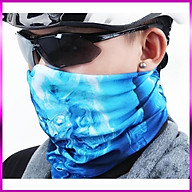 Bộ 3 Khăn Đi Phượt Đa Năng kiêm khẩu trang, mặt nạ,khăn dã ngoại- 206311(màu ngẫu nhiên) thumbnail