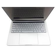 Miếng lót bàn phím in chữ Silicon skin keyboard Macbook Pro Retina 15 Inch có thể rửa - Hàng Chính Hãng thumbnail
