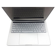 Miếng lót bàn phím in chữ Silicon skin keyboard Macbook Air 11 có thể rửa - Hàng Chính Hãng thumbnail