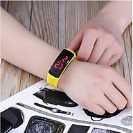 Đồng hồ đeo tay điện tử đèn LED cho bé - Giao màu ngẫu nhiên thumbnail