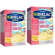 Combo 2 hộp BỘT ĂN DẶM RIDIELAC GOLD GẠO TRÁI CÂY - HỘP GIẤY 200G thumbnail