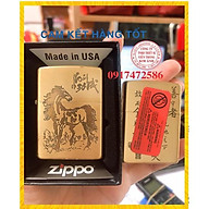 Bật Lửa Zippo Khắc Ăn Mòn Mã Đáo Thành Công thumbnail