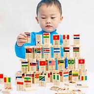 Đồ Chơi Gỗ Bộ Domino 100 Quốc Gia Trên Thế Giới thumbnail