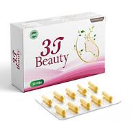 Viên Uống Sáng Da 3T Beauty Tăng Độ Đàn Hồi Trẻ Hóa Da, Chống Lão Hóa, Giảm Thâm Nám, Sạm Da, Tàn Nhang (Hộp 30 Viên) thumbnail