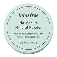 Phấn Phủ Kiềm Dầu Dạng Bột Khoáng Innisfree No Sebum Mineral Powder 5g - 131170490 thumbnail