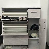 Tủ giầy thông minh nhựa Màu Vân Đá thumbnail