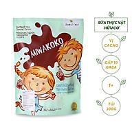 Sữa Thực Vật Hữu Cơ Miwakoko Vị Cacao Túi 300g - Phù hợp cho người theo chế độ thuần chay thumbnail