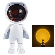 Đèn Hoàng Hôn, Đèn chiếu cầu vòng phi hành gia robot Màu Siêu Đẹp Dùng Quay Video livetream , Titok, chụp hình sống ảo thumbnail