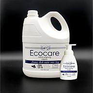 Nước rửa tay hữu cơ diệt khuẩn dạng bọt hương Quế 4000ml thương hiệu Ecocare ( tặng kèm vỏ tạo bọt) thumbnail