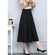 Chân váy xoè dài qua gối phong cách Hàn Quốc thumbnail