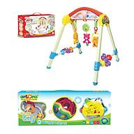 Combo đồ chơi kệ Ngôi nhà tuổi thơ có nhạc và bộ xúc xắc Fun for Baby thumbnail