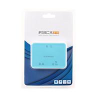 Đầu đọc thẻ 2.0 cho các dòng thẻ nhớ TF , SD , XD , M2 , MS , CF - hàng nhập khẩu thumbnail