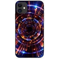 Ốp lưng da nh cho Iphone 12 Mini mẫu Vòng Tròn Vàng Xanh thumbnail