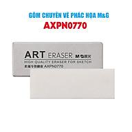 Gôm M&G AXPN0770 Dạng dài , đựng trong hôp giấy , chuyên dùng cho vẽ Phác Họa , trên hôp có chữ ART thumbnail