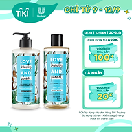 Combo sữa tắm và sữa dưỡng thể Love Beauty And Planet chăm da mềm mịn với 100% dừa tươi organic 400ml thumbnail